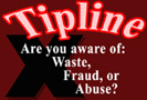 Are You Aware of Waste, Fraud, or Abuse?